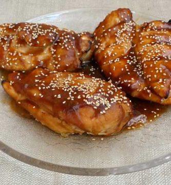 Pechugas de pollo en Salsa Teriyaki