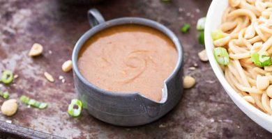 Receta de Salsa de Cacahuate