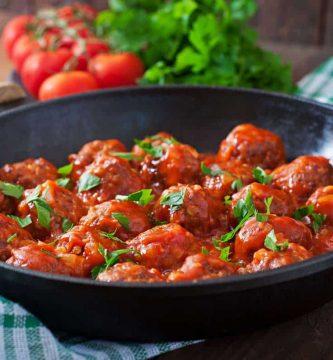 Albondigas en salsa de tomate
