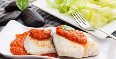 receta Merluza en Salsa de Tomate