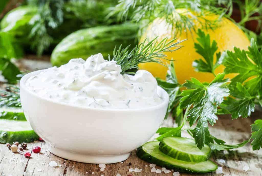 salsa yogur