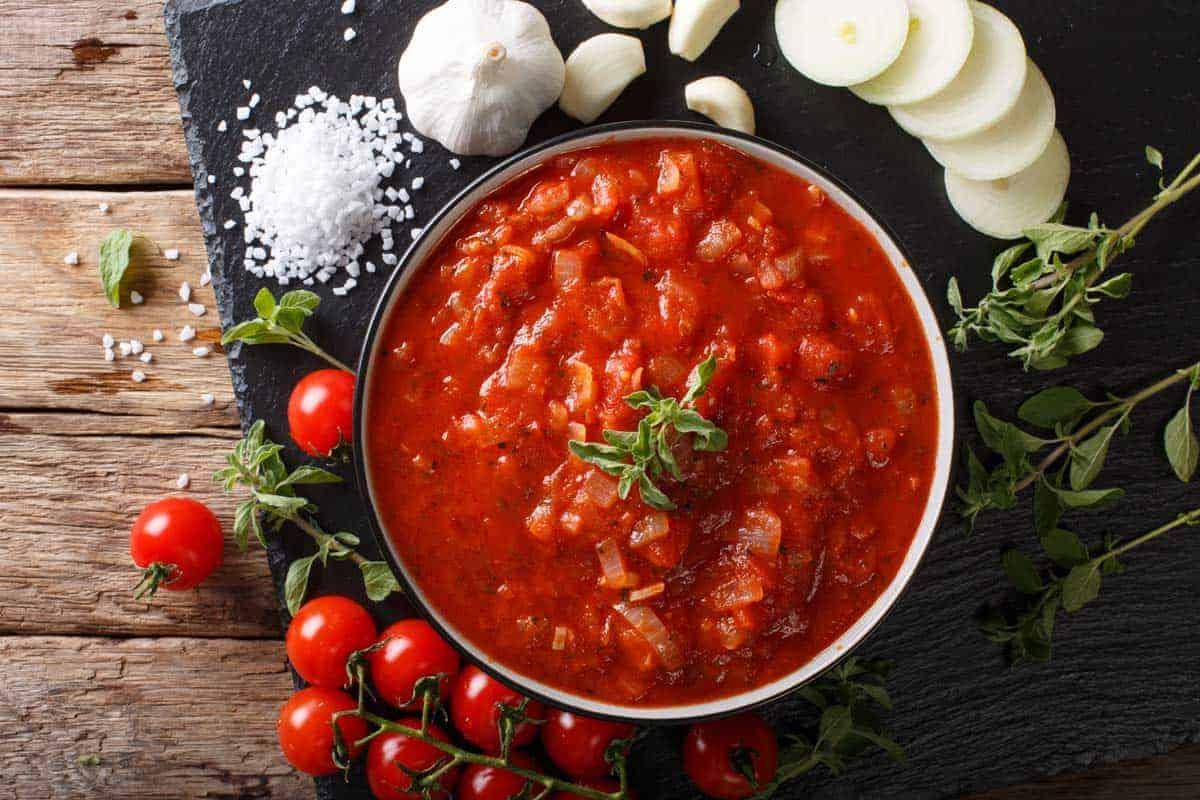 receta salsa napolitana