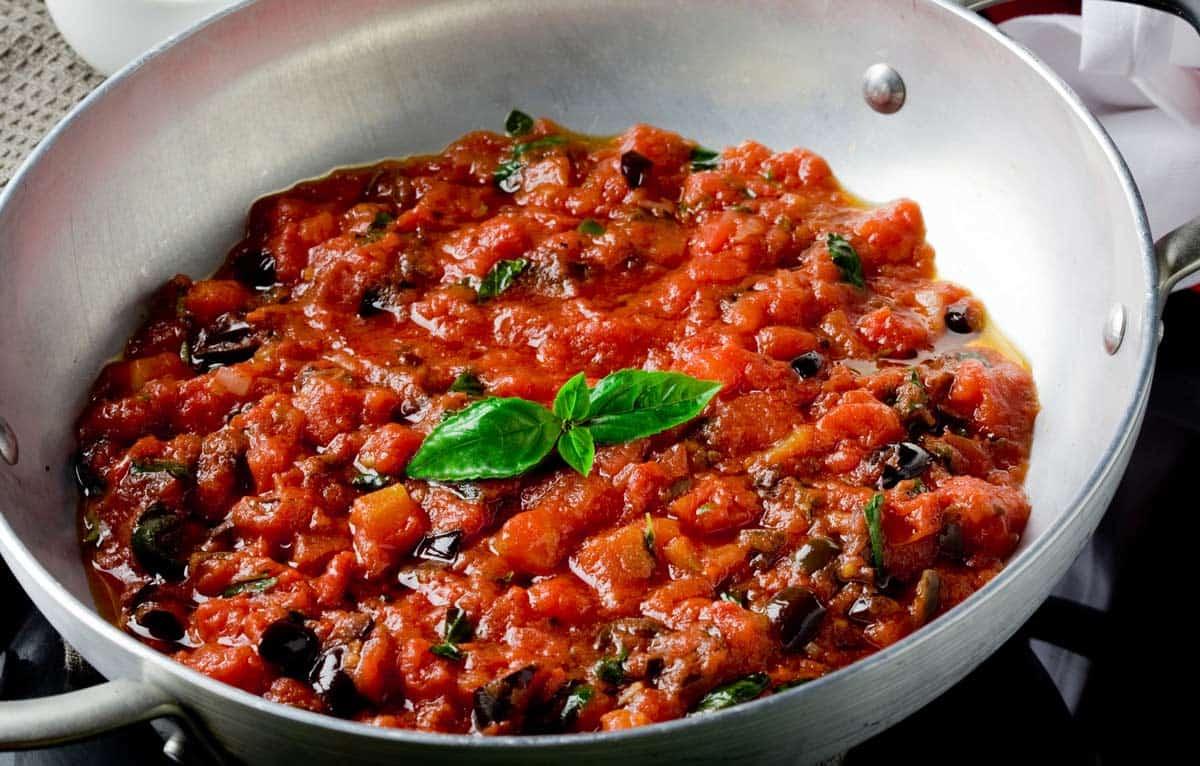 receta salsa putanesca