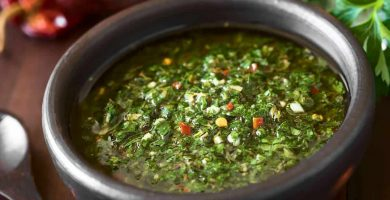receta salsa chimichurri