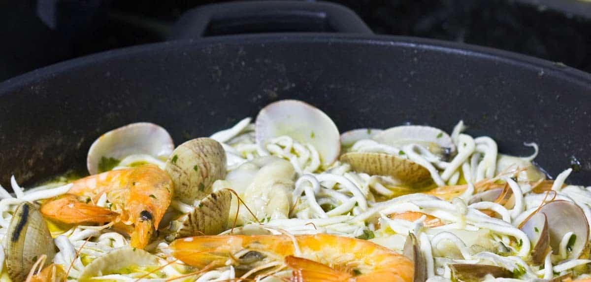 receta de cocochas en salsa verde